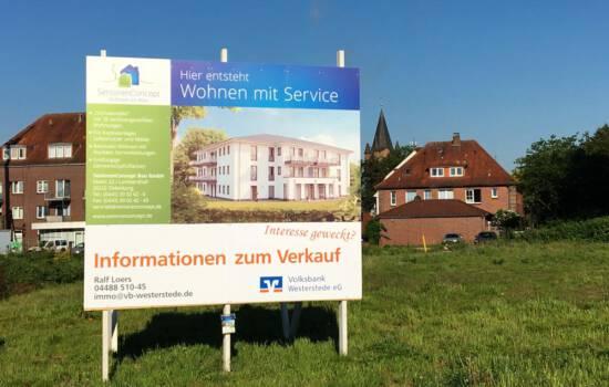 Bauschild Westerstede